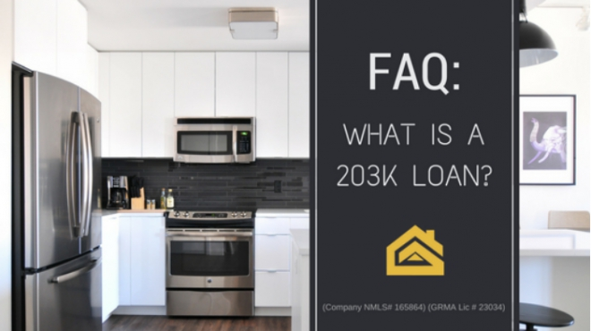 What Is A 203K Loan?