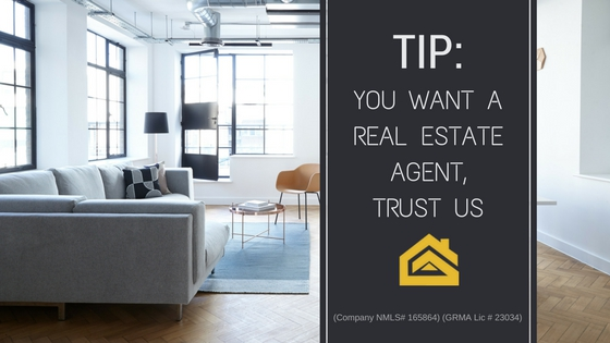 You want a real estate agent, trust us